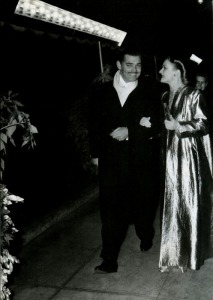 At the 'Gone With The Wind' premiere